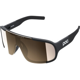 POC Aspire Gafas de sol, uranium black/brown silver mirror